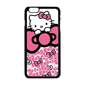 Happy Hello kitty Phone Case for iPhone 6 Plus Case