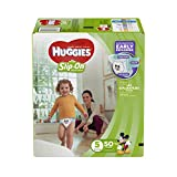 HUGGIES LITTLE MOVERS Slip-On Baby Diapers, Size 5, 50ct