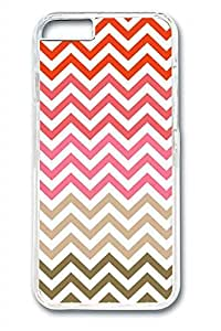 Colored Stripes Slim Soft Cover Case For Ipod Touch 5 Cover PC Transparent Cases