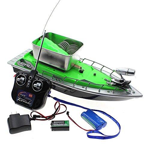 Mmrm mini rc fishing bait boat 200m remote control fish for Fishing rc boat