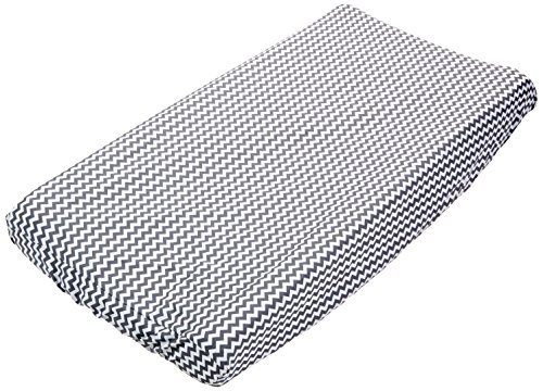 Trend Lab Chevron Changing Pad Cover, Gray