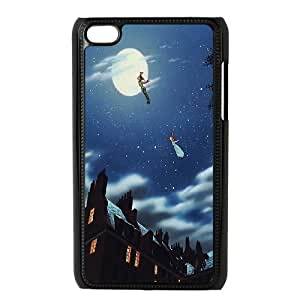 Peter Pan Cartoon - Never Grow Up Productive Back Phone Case FOR IPod Touch 4th -Pattern-1