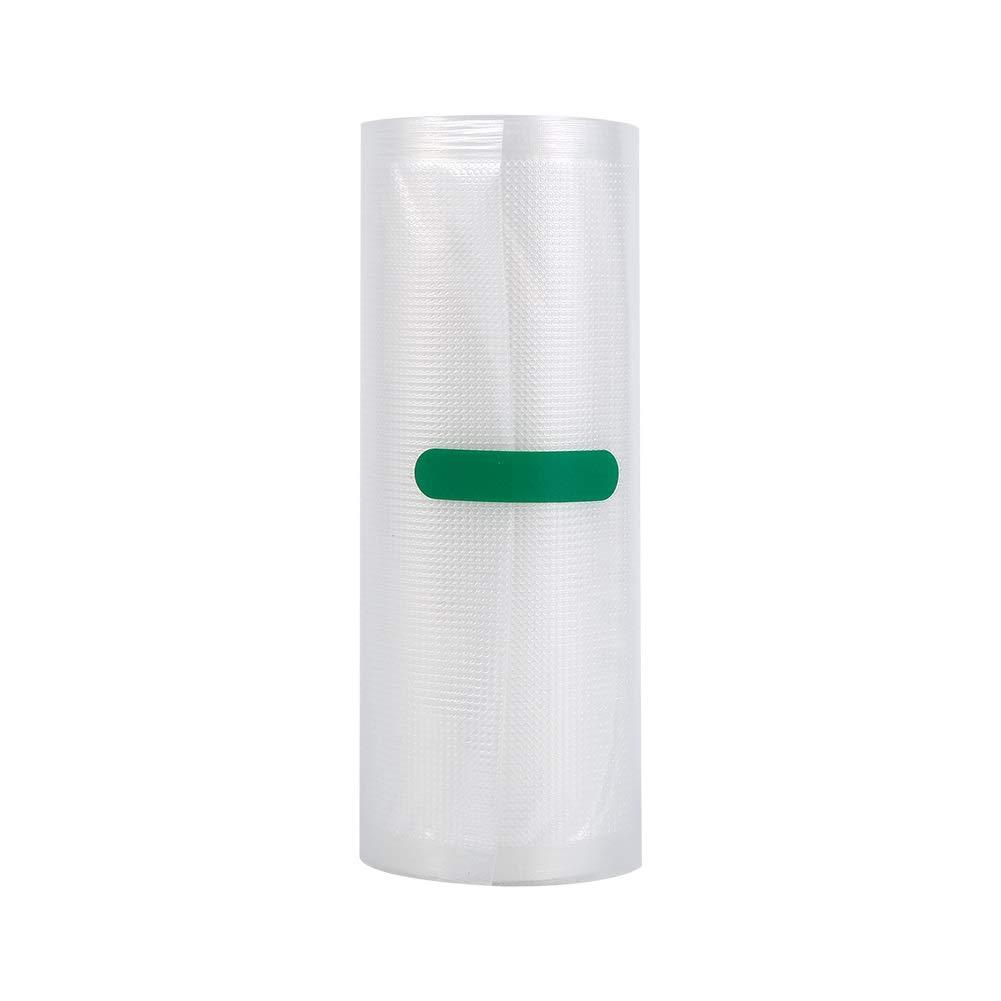 Taglia : 15 * 500cm Nikou Sacchetti per sigillanti sottovuoto Rotoli per Sacchetti di Grado Commerciale Conserve per Alimenti Conservare Le Buste fresche