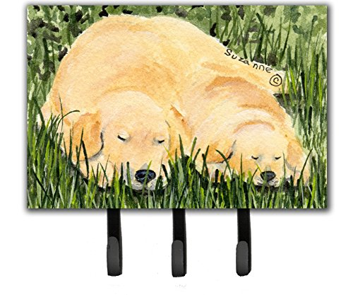 Caroline's Treasures SS8838TH68 Golden Retriever Leash Holder or Key Hook, Large, ()