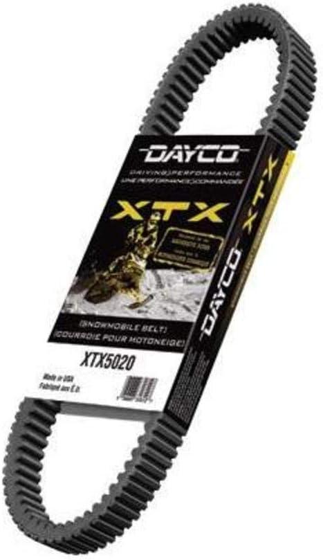 Black Dayco XTX5045 Belts