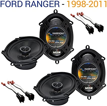 Fits Ford Ranger 1998-2011 Front Door Replacement Harmony HA-R68 Speakers New