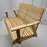 Kilmer Creek 4 Foot Natural Cedar Porch Swing