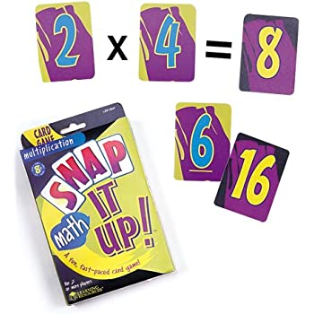 Learning Resources Snap It Up! Multiplication Card Game