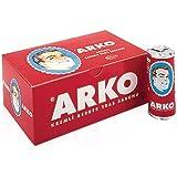 Stick de savon à barbe ARKO idéal pour les hommes aimant le rasage traditionnel! (6 sticks)