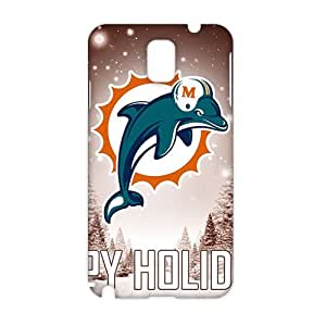 Cool-benz Miami Dolphins happy holidays (3D)Phone Case for Samsung Galaxy note3