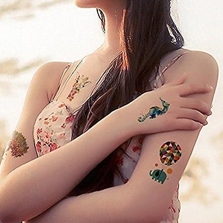 wicmeoon 1pcs Tattoos brazo muñecas Gemelos Tattoo tatuaje Tattoo ...