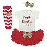 Baby Girl Valentines Outfit First Valentine's Day Outfit Girl Newborn Valentines