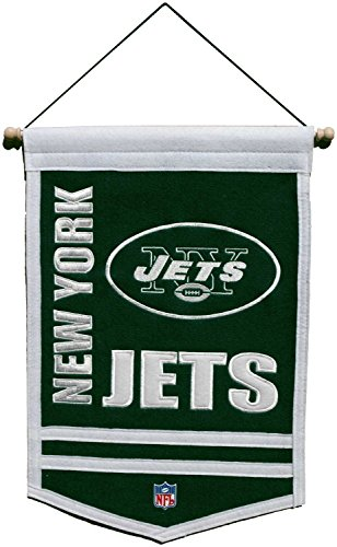 New York Jets Traditions Banner (Vintage Pennant Traditions)