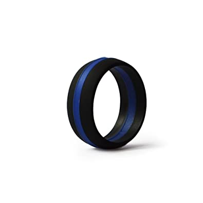 line police blue law elegant for thin rings of wedding amp collection ring enforcement