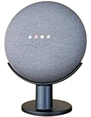 Mount Genie Google Home Mini Pedestal: [[AUS Compatible]] Improves Sound Visibility and Appearance - Cleanest Mount Holder Stand for Google Mini (Charcoal)