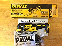 Dewalt Xr Cordless 20-volt Max Oscillating Tool (Bare Tool Only - No Battery - No Charger) Model Dcs355b