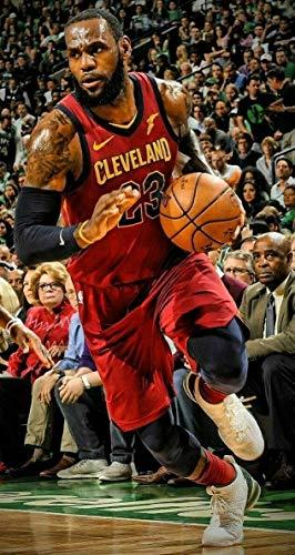 ShopForAllYou Posters & Prints Wall Art Lebron James Cleveland Cavaliers NBA Basketball Sports Poster Cleveland Cavaliers Nba Pattern
