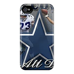 Bumper Hard Phone Cases For Iphone 6plus (Cmb8054MGjm) Support Personal Customs High Resolution Dallas Cowboys Pattern