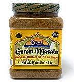 Rani Garam Masala Indian 11 Spice Blend 1lb (16oz) 454g ~ Salt Free | All Natural | Vegan | Gluten Free Ingredients | NON-GMO