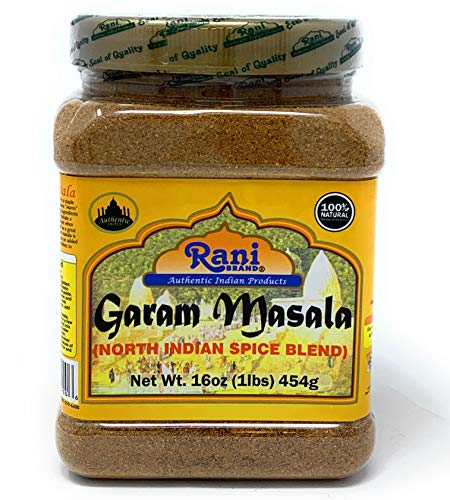 Rani Garam Masala Indian 11 Spice Blend 1lb (16oz) 454g ~ Salt Free | All Natural | Vegan | Gluten Free Ingredients | NON-GMO