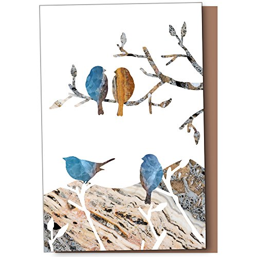 - Tree-Free Greetings ECOnotes Blank Note Cards, Matching Envelopes, Blank Stationary Card Set, 4