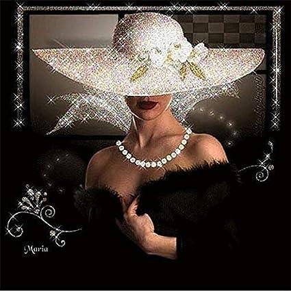 5D Diamond Painting Full Drill Woman Cross Stitch Paste Diamond Painting Home Decoration Kit