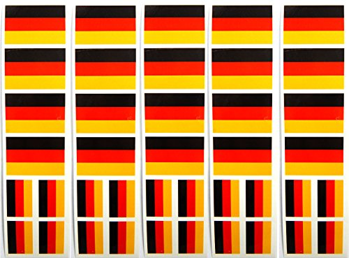 40 German Flag Tattoos, Germany Olympic Party Favors