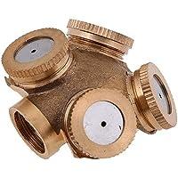 Accessoires voor gazon spuiten Nevelsproeier watersproeikop Garden Sprinkler verstelbare sproeiers Brass Irrigatie…
