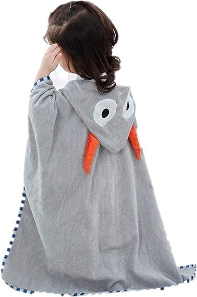 Casa Toalla con Capucha para Bebés, Suave Encapuchado Toalla con Patrón Animal Algodón Wrap Toalla de baño para Bebé - Talla 140 x 70cm: Amazon.es: Ropa y accesorios