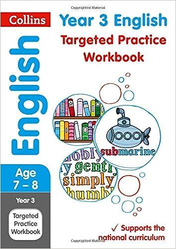 Amazon Year 3 English Targeted Practice Workbook Collins Ks2