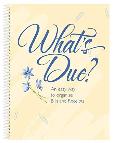 Miles Kimball Whats Due Bill Organizer Book