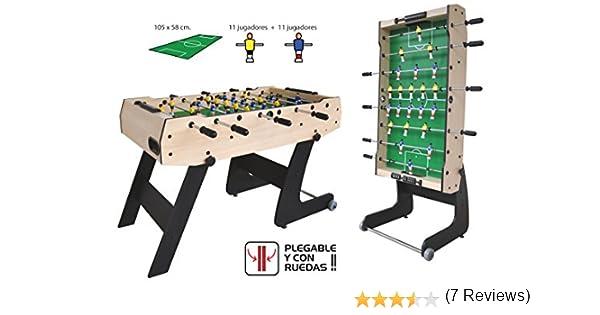 Futbolin Plegable Super-S F2201: Amazon.es: Juguetes y juegos