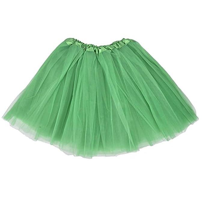 f28e4f75cc74 Damen Röcke, GJKK Damen Vintage Petticoat Party Dance Tutu Rock Erwachsenen  Ballett Bubble Kurzer Rock