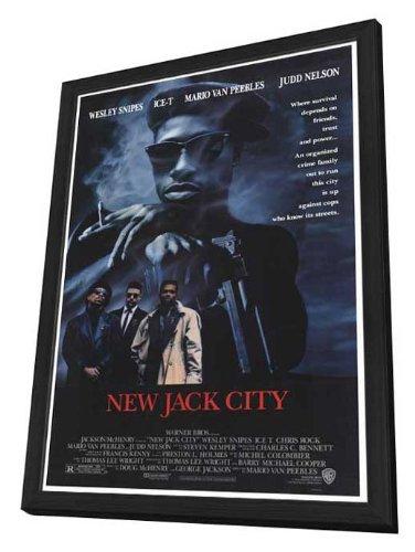 New Jack City - 27 x 40 Framed Movie Poster