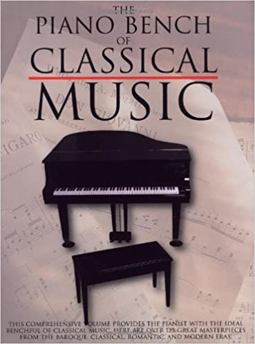 The Piano Bench of Classical Music (Piano Collections): Amy