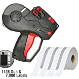 Monarch 1136 Price Gun With Labels Starter Kit: Includes Price Gun, 7,000 White Pricing Labels and Inker