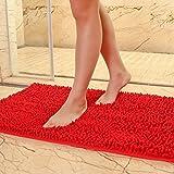 HOMEE Carpet/Indoor Mat /Bedroom Toilet Bathroom Foot Mat/Bath Mat Absorbent Pad,E,70X140Cm(28X55Inch)