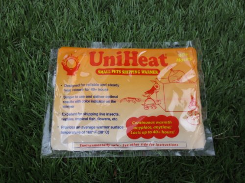 10 PCS x 40 Hour UniHeat Heat Pack For Shipping-Fish-Reptile-Insect-Live-Food-Plants by Uniheat