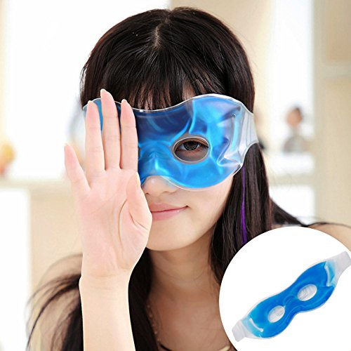 NNDA CO New Sleep Mask Eye Gel Ice Warm Goggles Dark Reduce Circles Relieve Eye - Eyeglasses Ice
