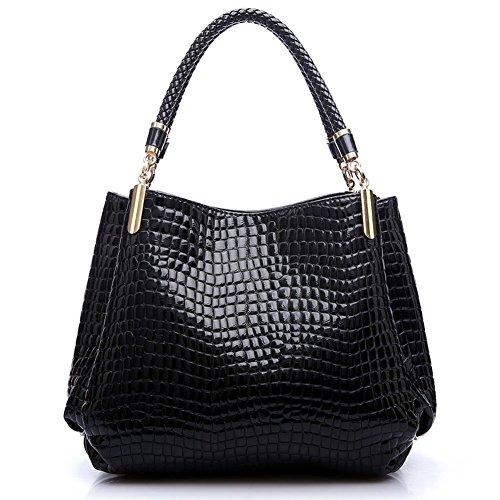 Coofit 3PCS Handbag Purse Alligator Pattern Crossbody Bag Clutch Bag for Women