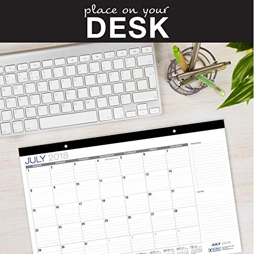 Desk Calendar 2018-2019: 11''x17'' - (Runs from July 2018 Through December 2019) (1 Pack) by Global Printed Products (Image #3)