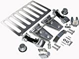 APDTY 110228 Stainless Steel Hood Accent Kit Includes Hoo...