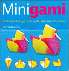 minigami great projects using teabag iris folding and
