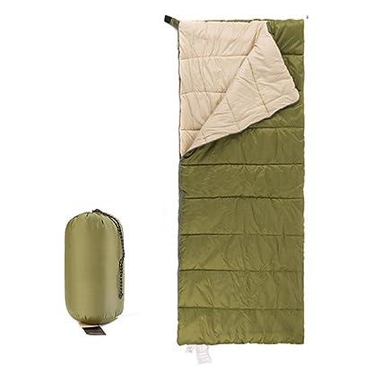 HM&DX Verano Saco de Dormir Rectangular Adultos Clima Cálido Ultraligero Compacto Saco de Compresión Camping Hiker