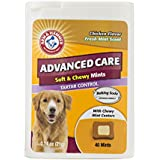 Arm & Hammer Dog Dental Care Tartar Control Soft & Chewy Mints for Dogs | Reduces Plaque & Tartar Buildup Without Brushing, .74 ounces (40 Pcs), Chicken Flavor