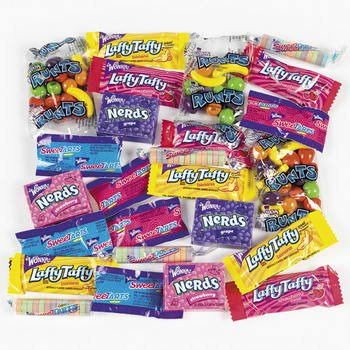 Wonka Mixups - Nerds, Bottlecaps, Laffy Taffy, SweetTarts 200 pcs by Wonka Mixups