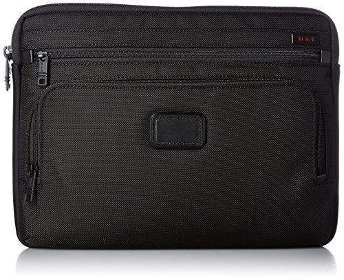 Tumi Alpha Large Laptop Cover, Black, One Size by Tumi