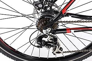 Barracuda Hombre Draco 3 Bicicleta, Color Negro/Rojo, tamaño Talla ...