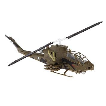 KESOTO Juguetes Campana Helicóptero de Ataque de Modelo ...