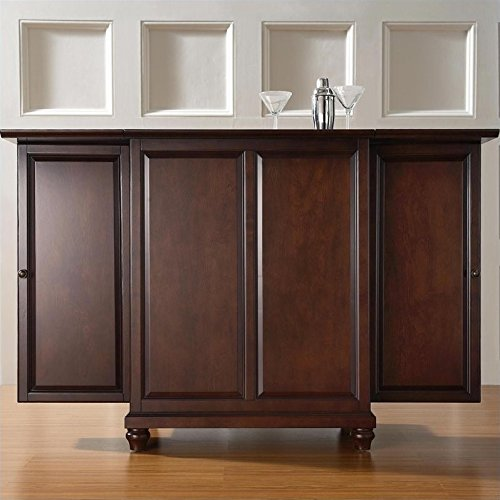 Crosley Furniture Cambridge Expandable Top Bar Cabinet - ...